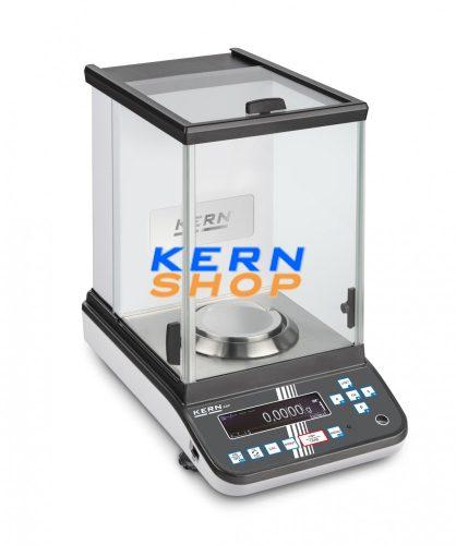 Kern hitelesíthető analitikai mérleg ABP 200-4M 220 g/0,1 mg