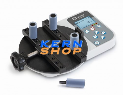 SAUTER DA 5-3 Digitális nyomatékmérő műszer, kupak nyitó-záró-nyomaték erő ellenőrző készülék, 5Nm / 0,001Nm
