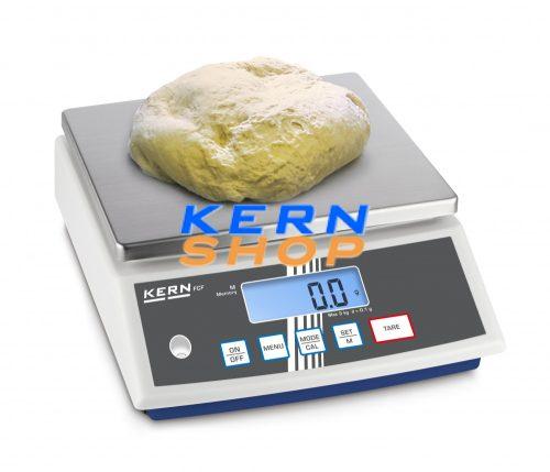Kern kompakt asztali mérleg FCF 3K-4   3 kg/0,1 g