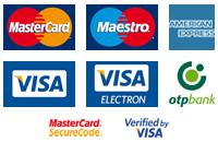 Üzletünkben bankkártyával is fizethet!